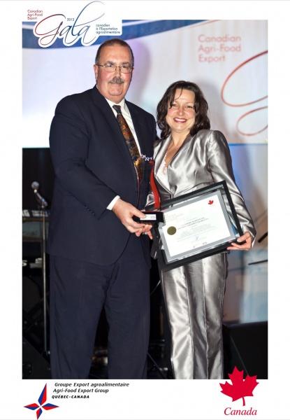 LAURÉATE 2012- PRIX Entreprise Image de Marque du Canada