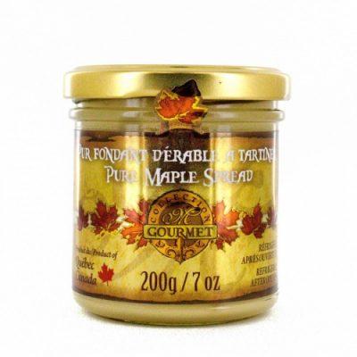 Pur fondant d'érable ( Pur beurre d'érable)- 200 g / 7 oz