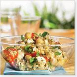 Salade de quinoa au féta, à la menthe et à l'érable