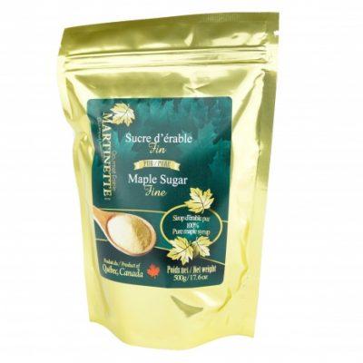 Pur sucre d'érable granulé 500g FIN – Sac