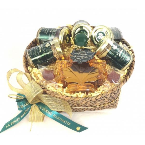 Emballage-cadeau Panier Rond d'ÉRABLE
