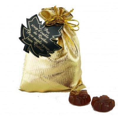 Bonbons clairs au sirop d'érable -50g pochette OR