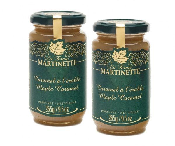 Caramel à l'érable – 2 Pots de verre de 265 g / 9.5 oz