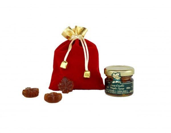 Emballage Mignon Érable Rouge