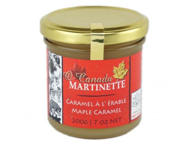 O CANADA- Caramel à l'érable – 200 g / 7 oz