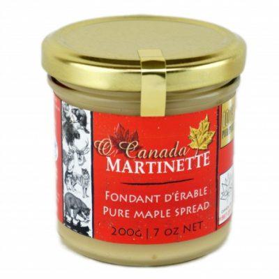 O CANADA- Pur fondant d'érable ( Pur beurre d'érable)- 200 g / 7 oz