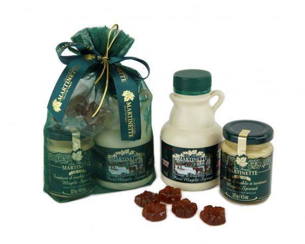 ELEGANCE CLASSIQUE ERABLE 1- emballage sac organza vert