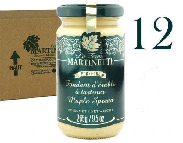 Pur fondant d'érable (Beurre d'érable pur)-12×265 g / 9.5 oz