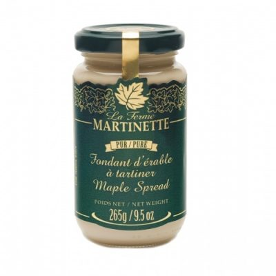 Pur fondant d'érable (beurre d'érable) 265 g / 9.5 oz