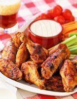 Ailes de poulet au sirop d'érable