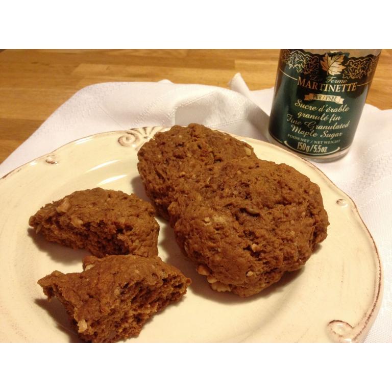 Biscuits moëlleux à la mélasse et sucre d'érable