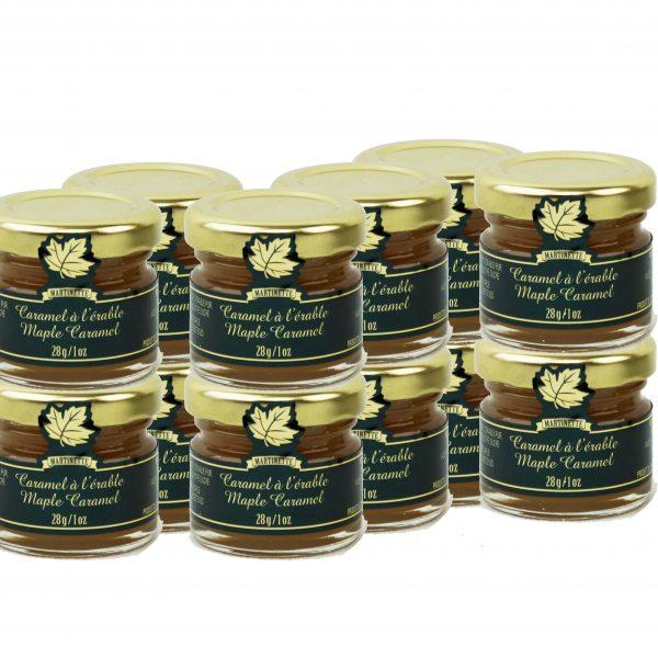 Caramel à l'érable 12 x 28g- Mignons