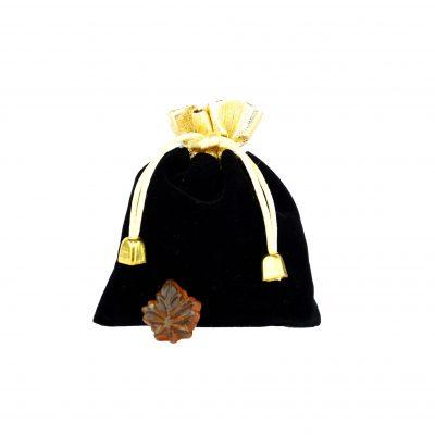 Bonbons clairs au sirop d'érable -50g pochette NOIRE