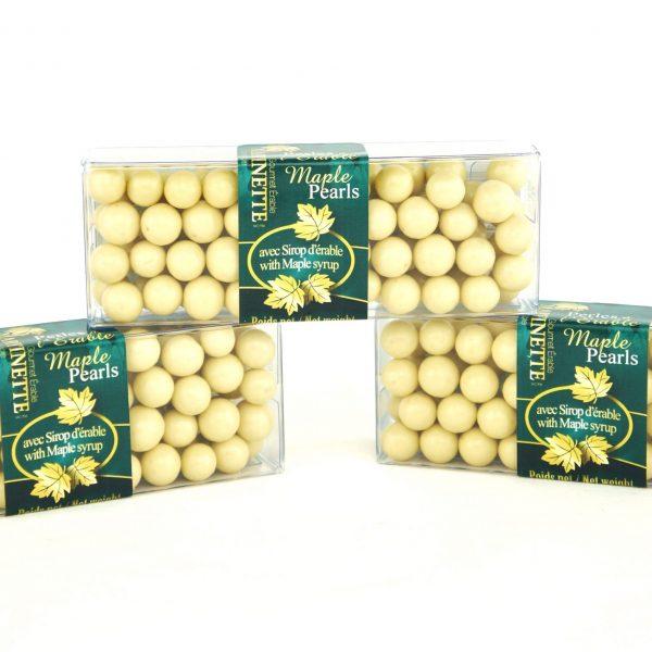 Perles Érable Croquantes- 3x55g boîtes cello