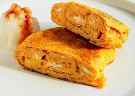 Omelette au sirop d'érable (recette du Japon)