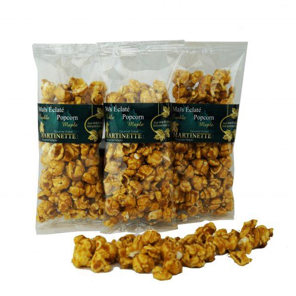 Maïs Éclaté à l'érable 3x50g – sac