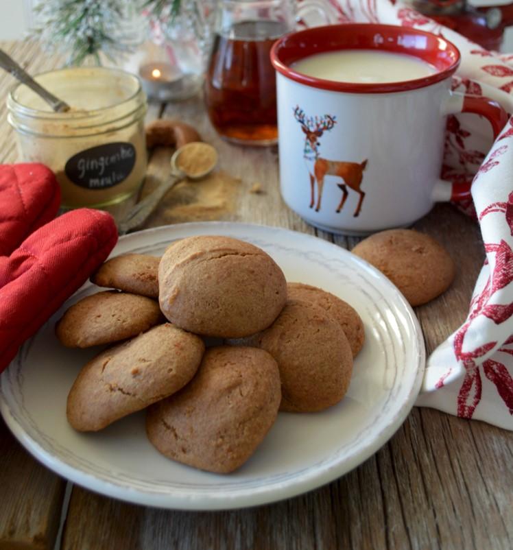 Biscuits moelleux à la mélasse et sucre d'érable