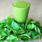 Smoothie vert onctueux