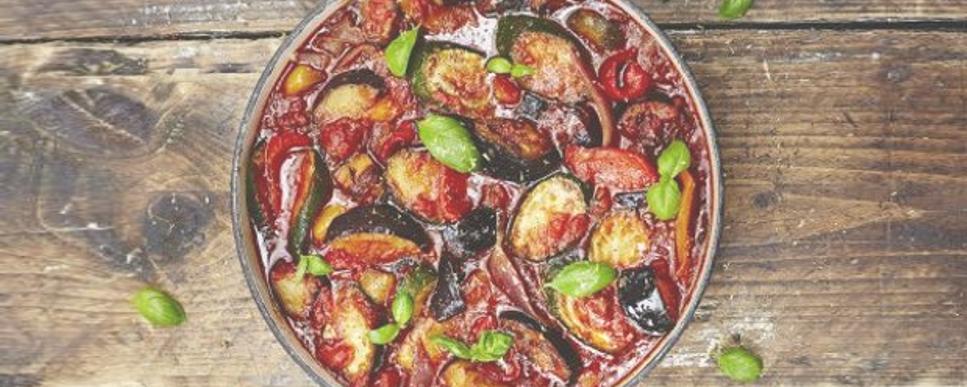 Maple squash ratatouille recipe