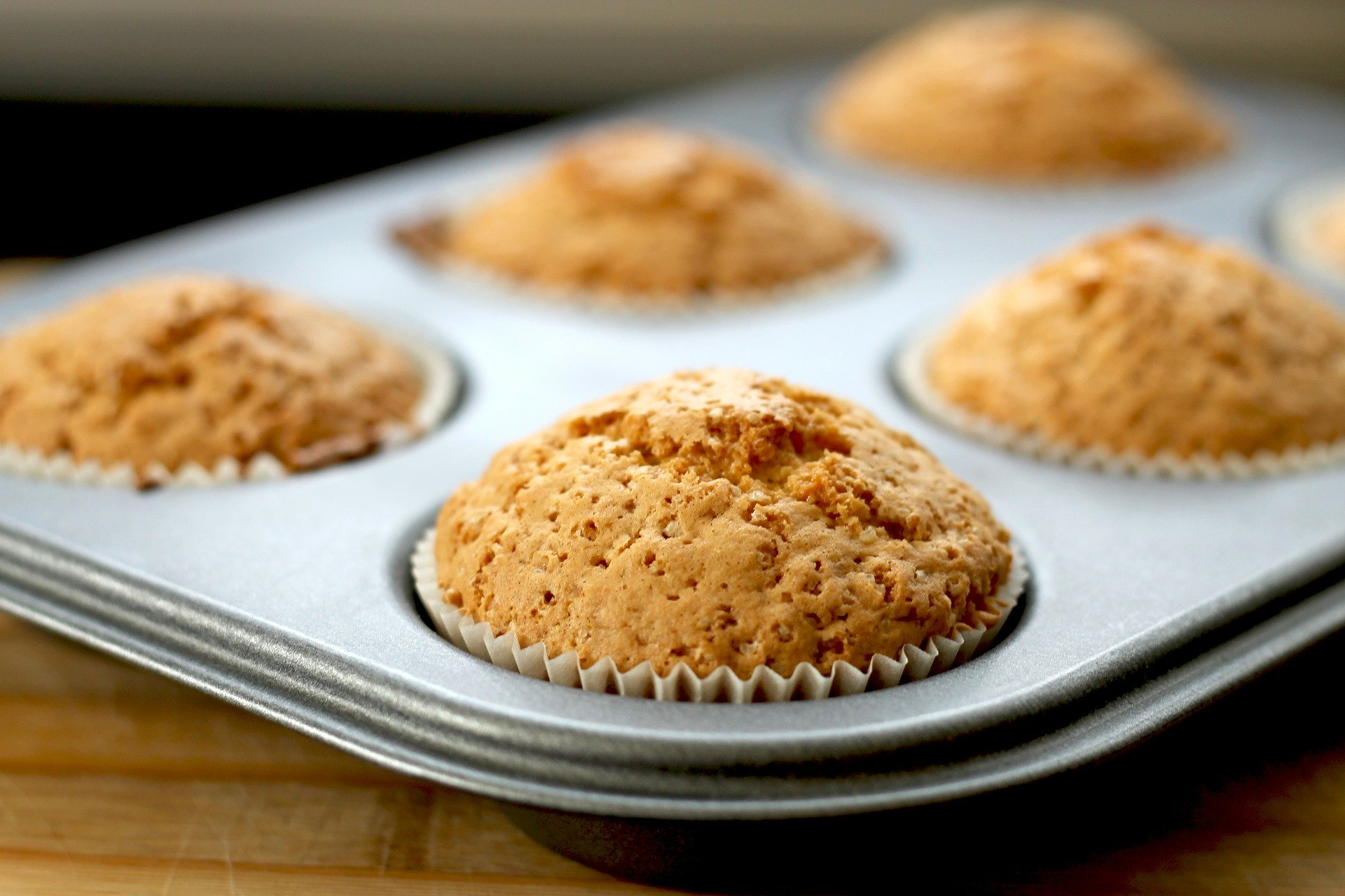 Muffins au son et sirop d'érable