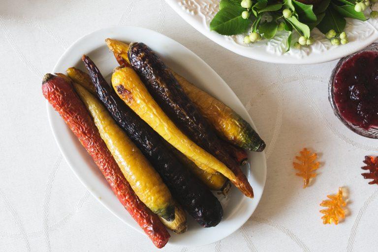 Carottes glacées au sirop d'érable et à la moutarde