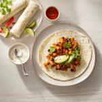 Burritos aux haricots noirs à l'érable