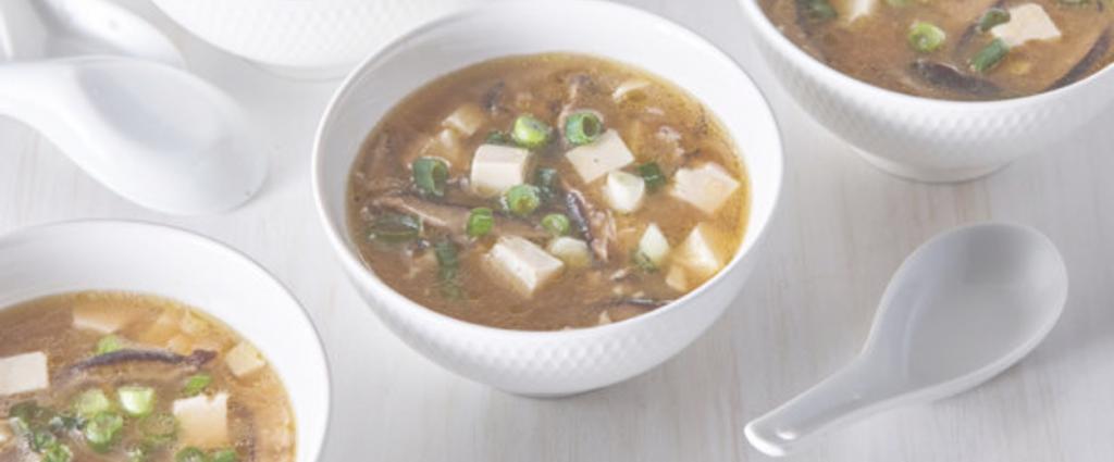 Recette soupe miso érable