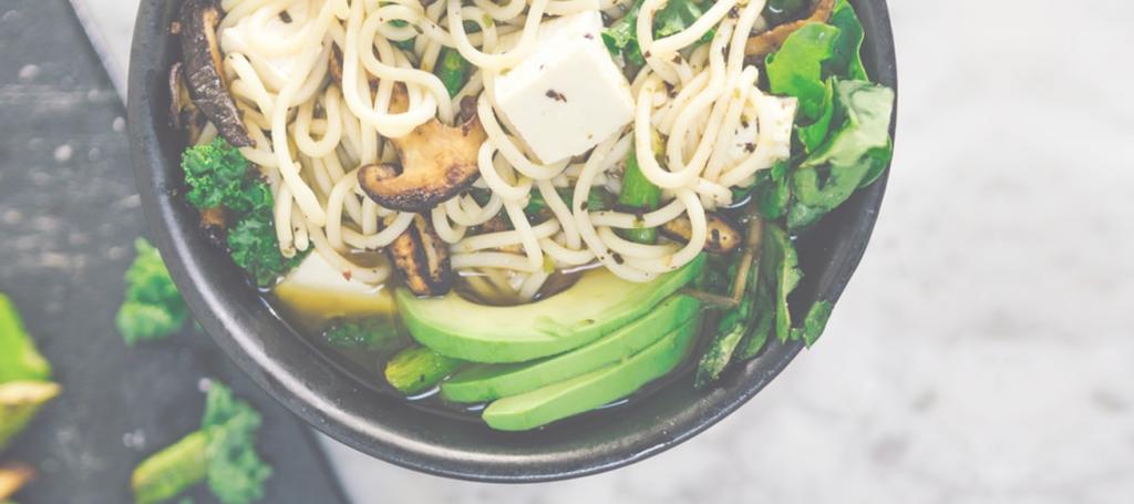 Nouilles tofu légumes érable