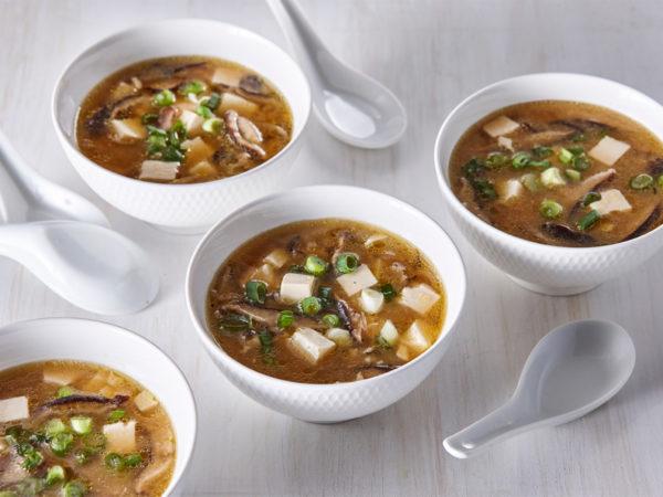 Soupe miso à l'érable