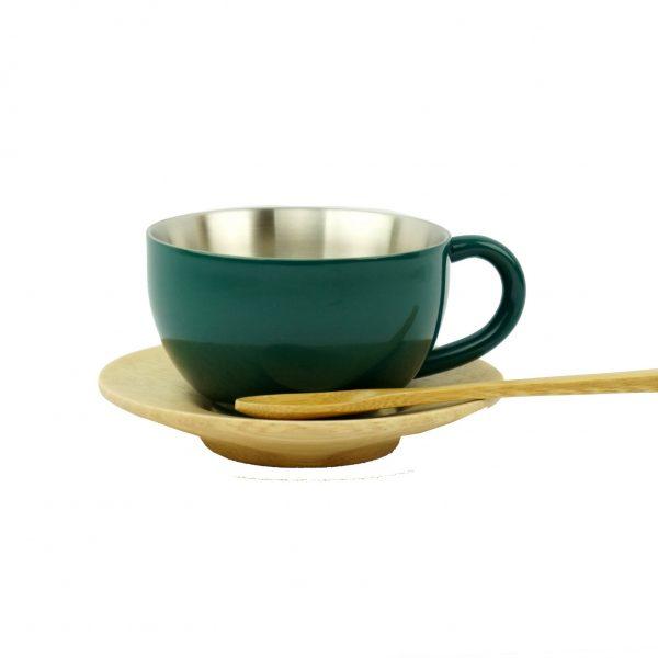 Tasse à thé – Vert foncé